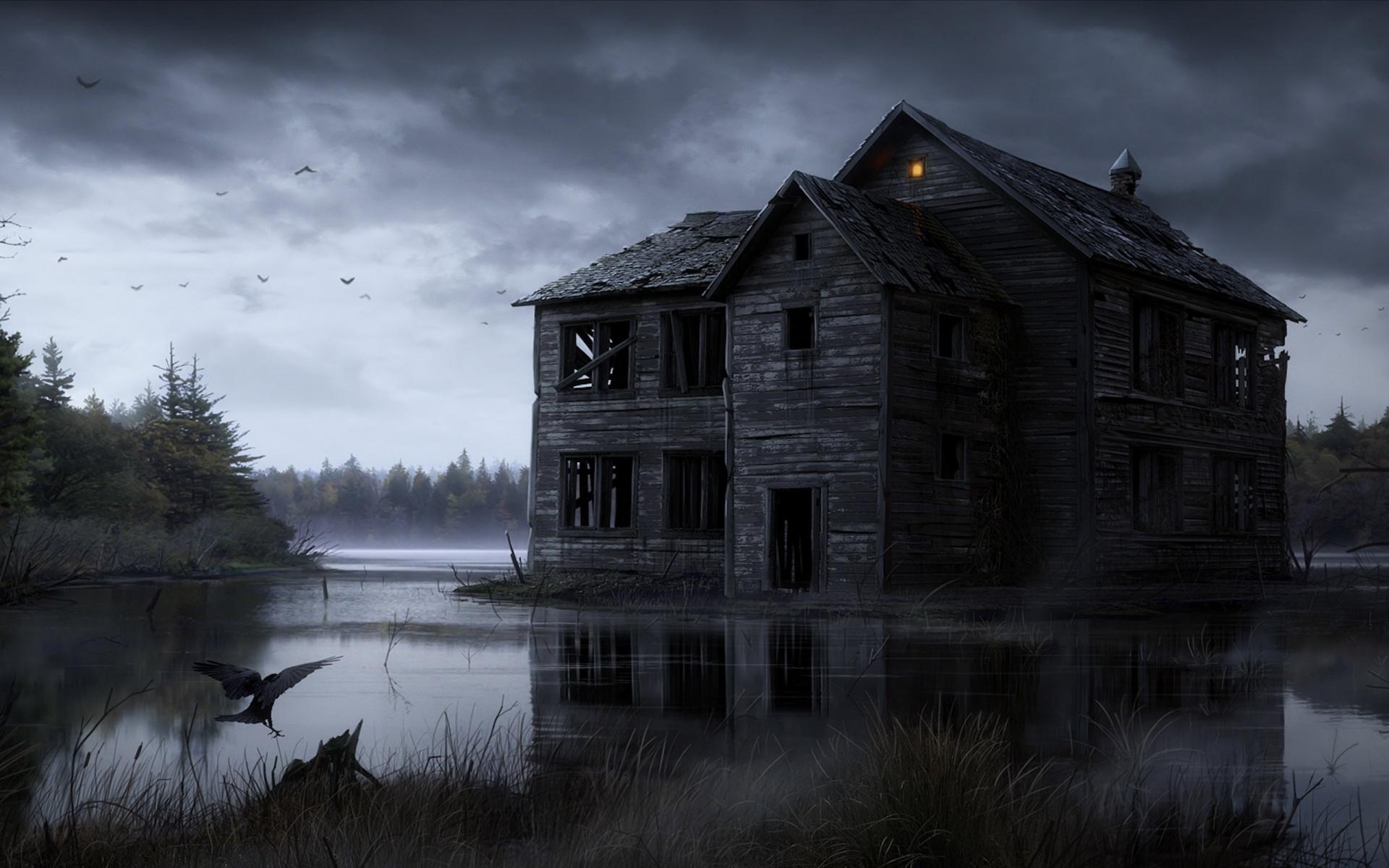 halloween dark ghost horror haunted 1920x1200