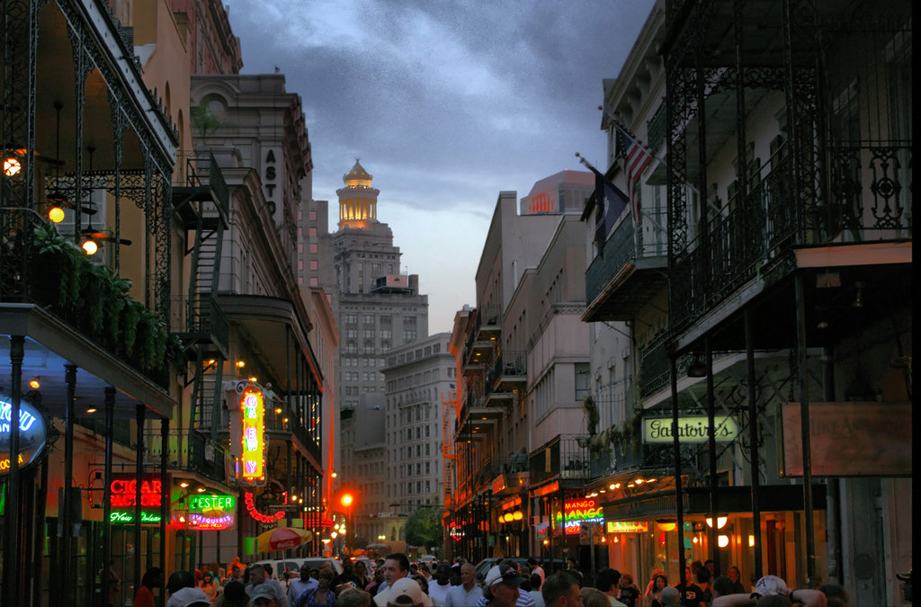 Bourbon Street New Orleans By Roussis 1024x675