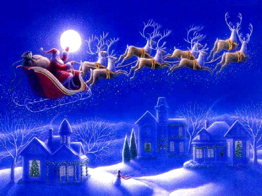 3d Christmas Wallpaper Wallpapers9 1024x768