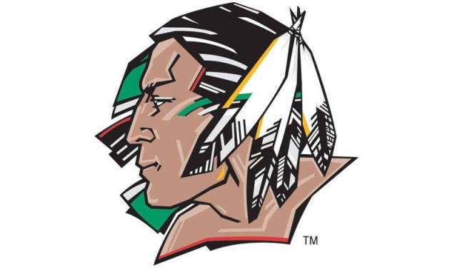 North sioux controversy indian ceremonial sioux may hockey controversy 640x384