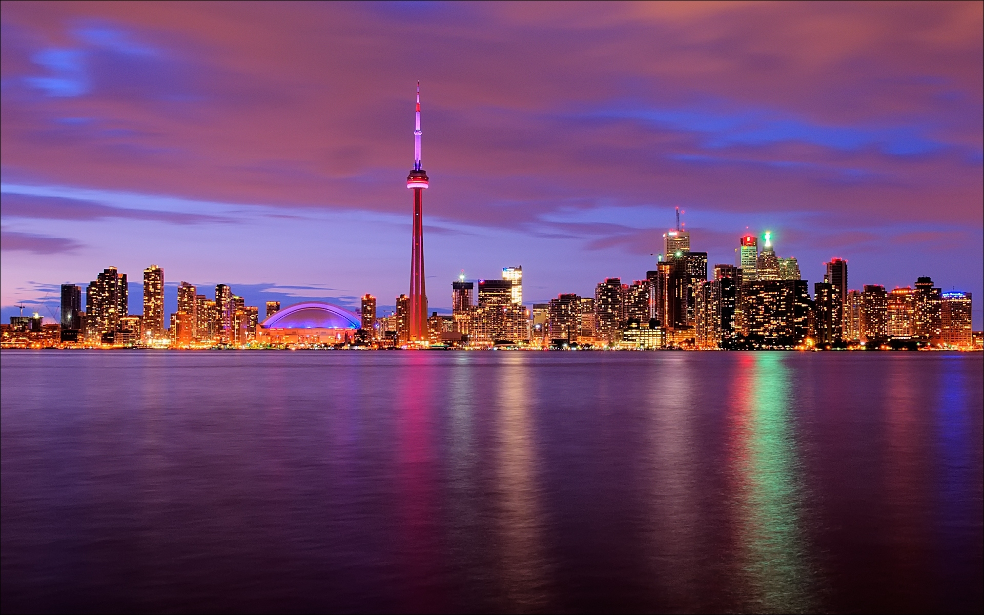 skyline canada toronto backrounds walls 1920x1200 1920x1200