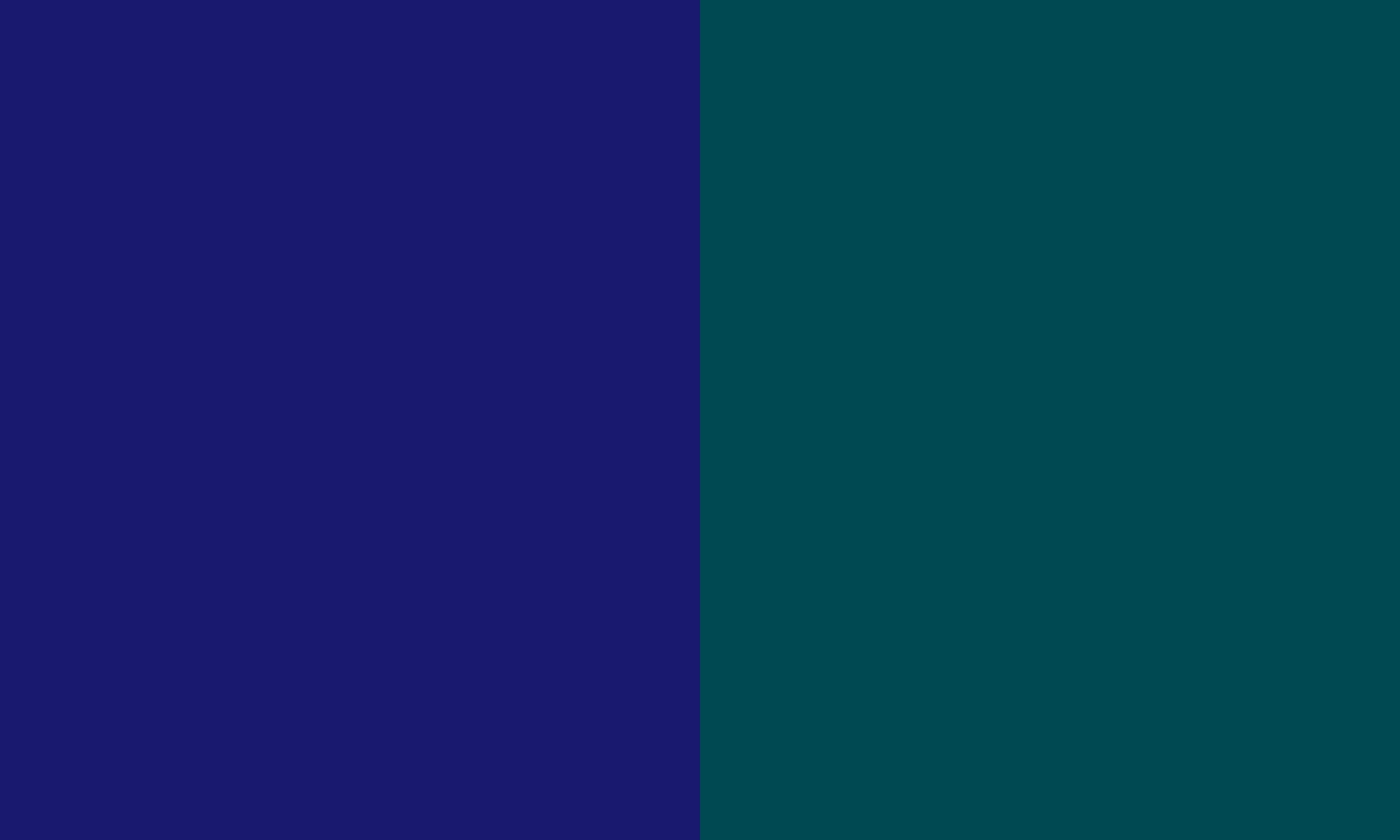 Midnight Blue and Midnight Green solid two color background 1280x768