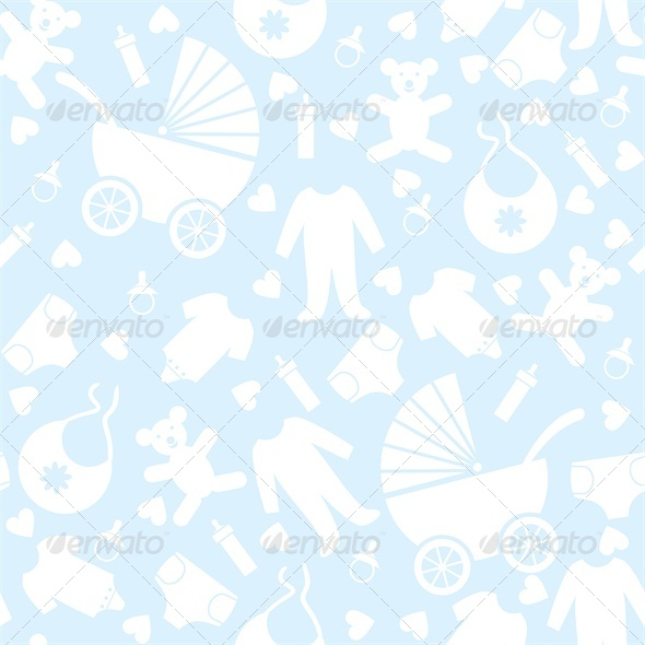 Blue Baby Background for Baby Shower   Backgrounds Decorative 590x590