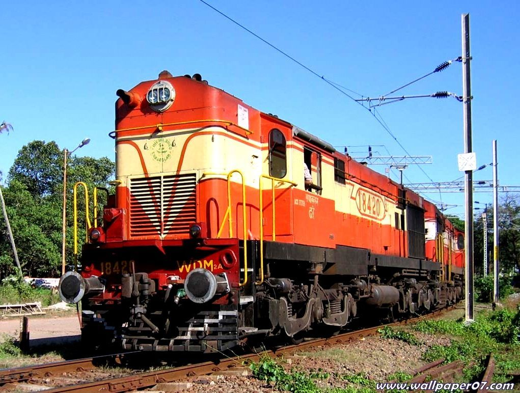 Indian Trains Hd Wallpapers Wallpaper Trains All Sorts of in 1021x772