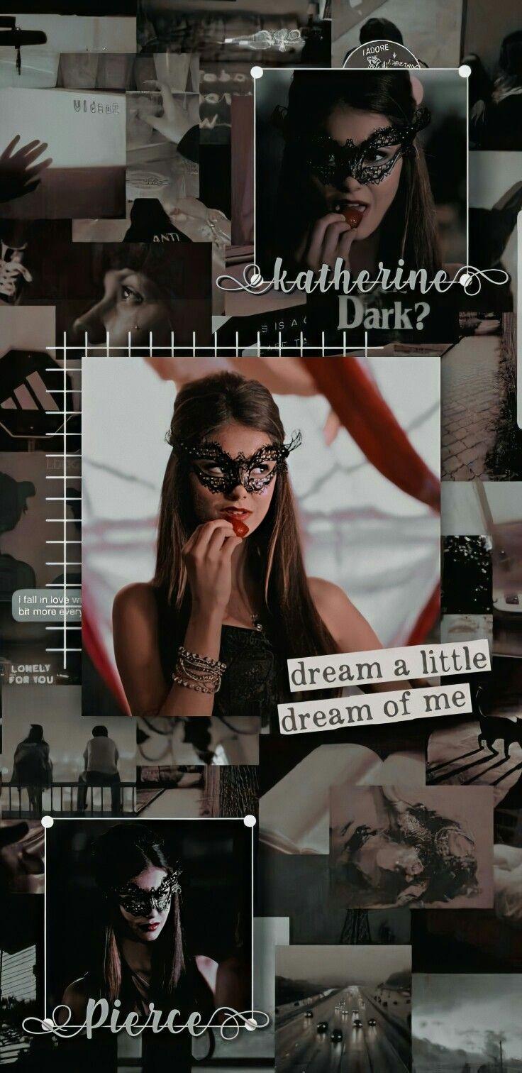 Wallpaper Katherine Pierce Vampire diaries funny Vampire 736x1512