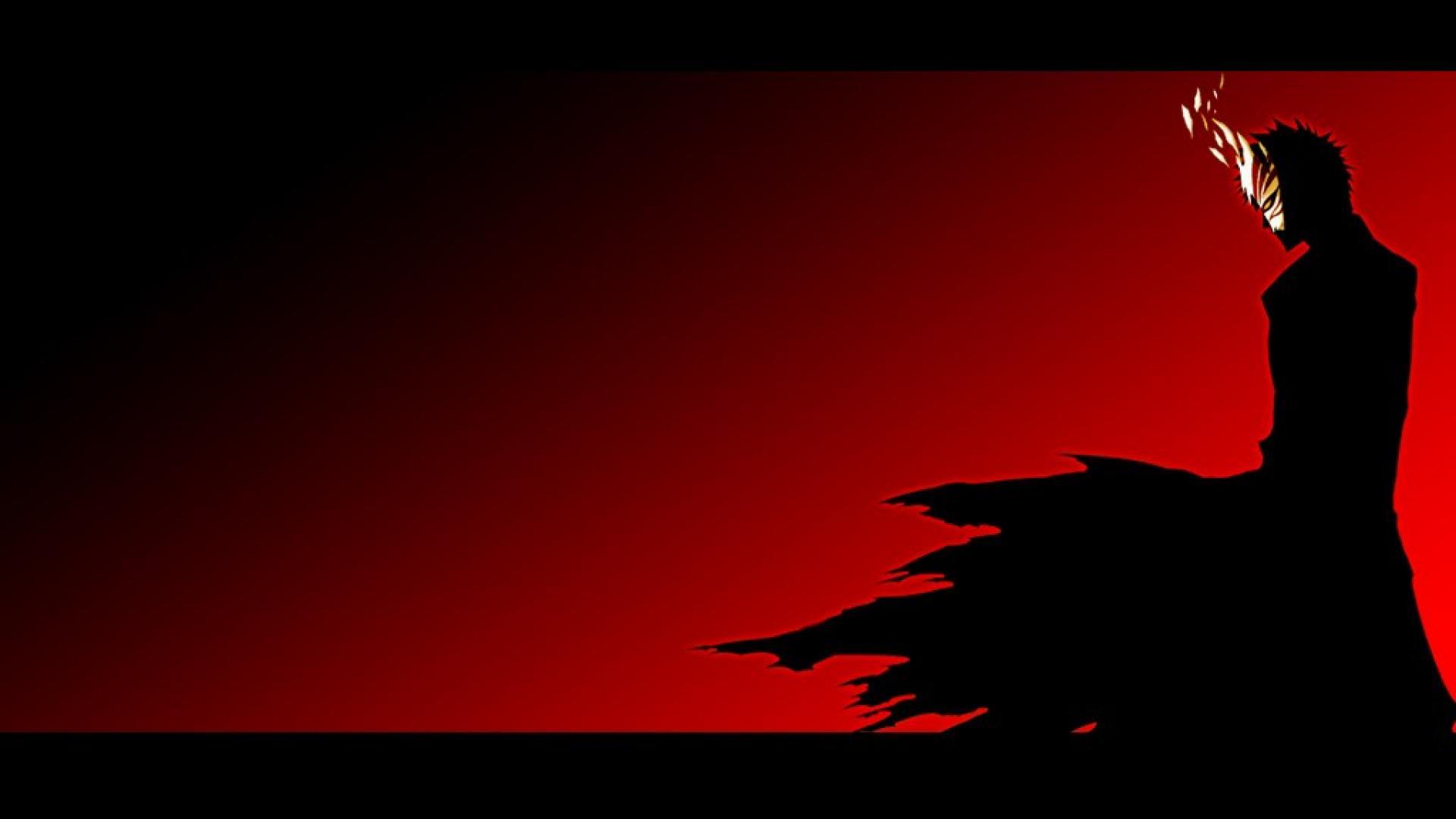 Hd wallpaper red and black - Bleach Ichigo Abstract Art Red And Black Hd Wallpaper 5768 Hq