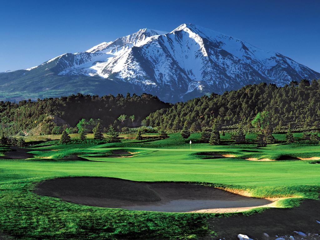 Beautiful Golf Course Wallpaper - WallpaperSafari
