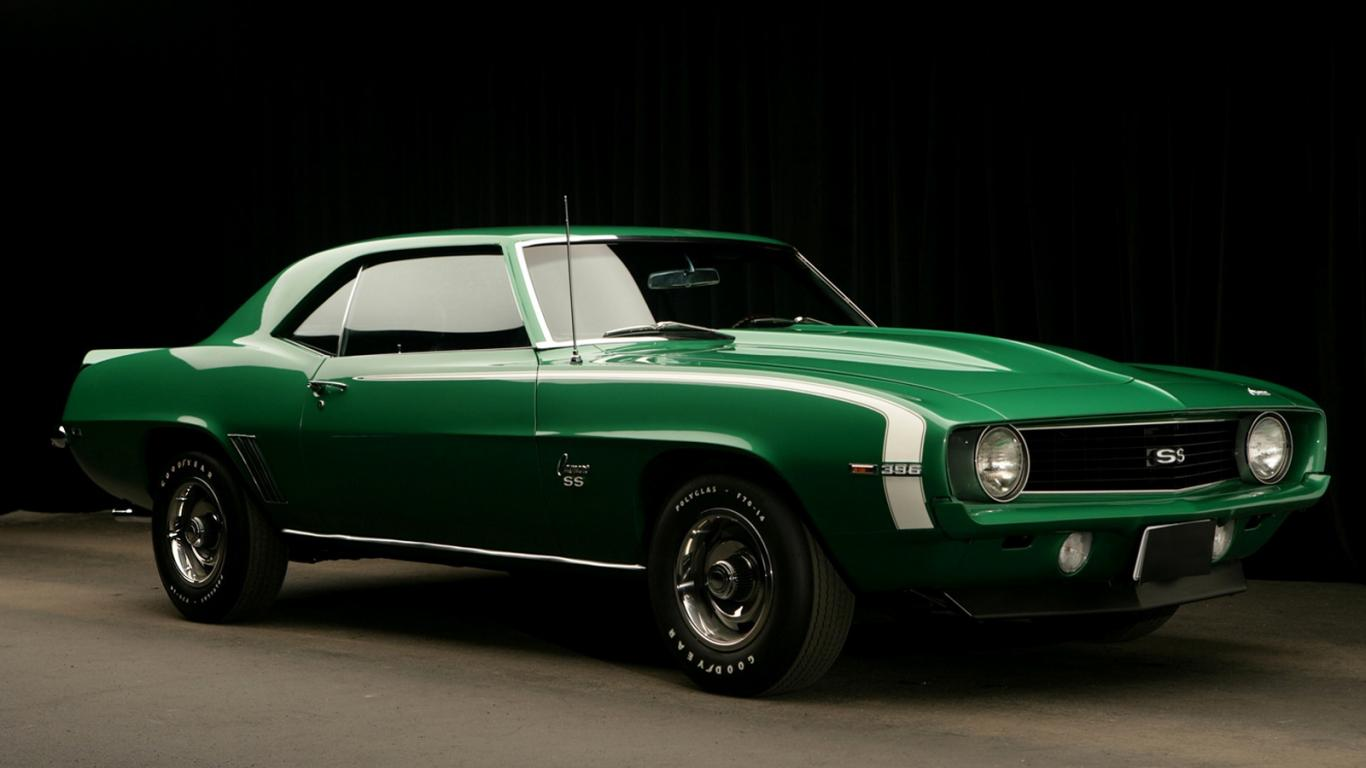 hd muscle car wallpaper Anonimox 1366x768