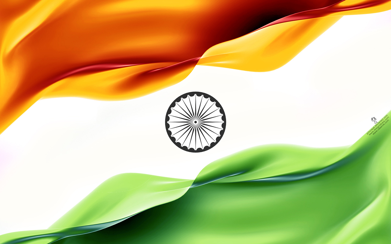 AllTypesWallpapers Indian flag 1280x800