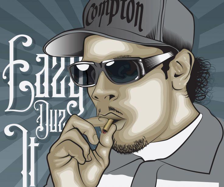 nwa gangsta rapper rap hip hop eazy e marijuana weed 420 d wallpaper 736x616