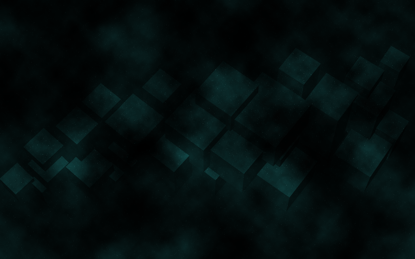 Free Download Abstract Cubes Dark Green Wallpaper Hq