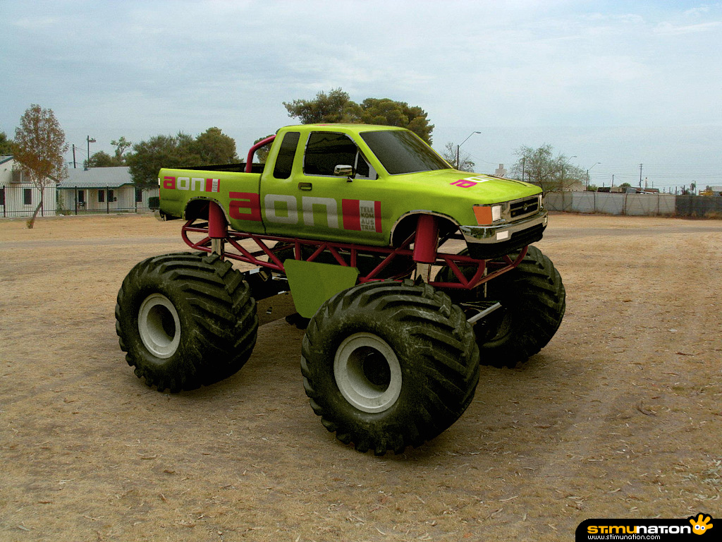 Monster Truck Fever Wallpaper with 1024768 Resolution Best New 1024x768