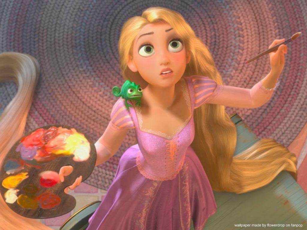 Rapunzel de Disney Wallpaper Disney princess Wallpaper 1024x768