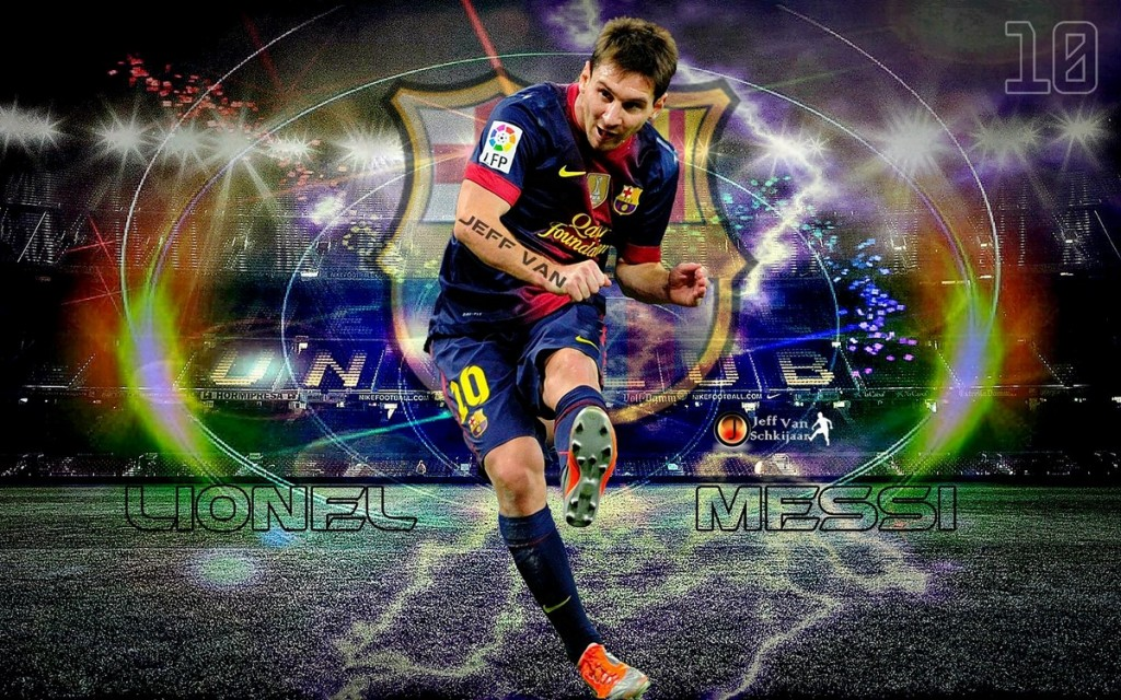 Football Lionel Messi 2013 HD Wallpapers 1024x640