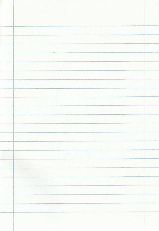 notebook paper wallpaper