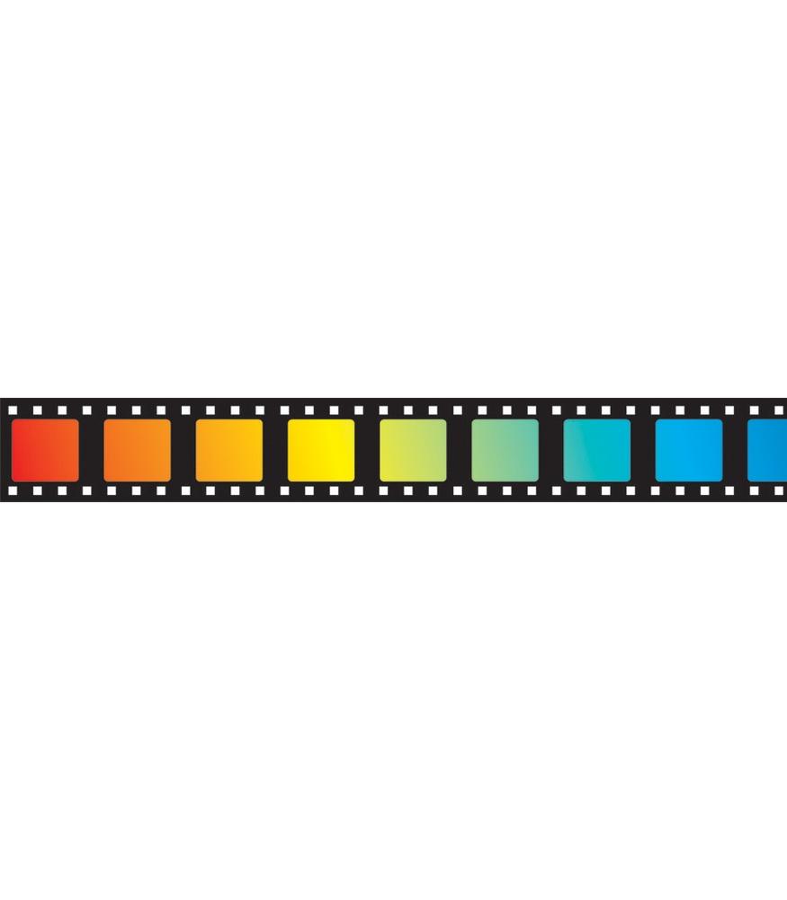Film Strip Border Film straight borders 875x1000