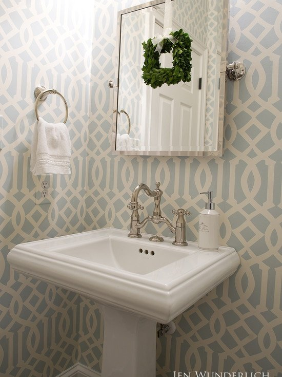 Trellis wallpaper Remodel Pinterest 550x734