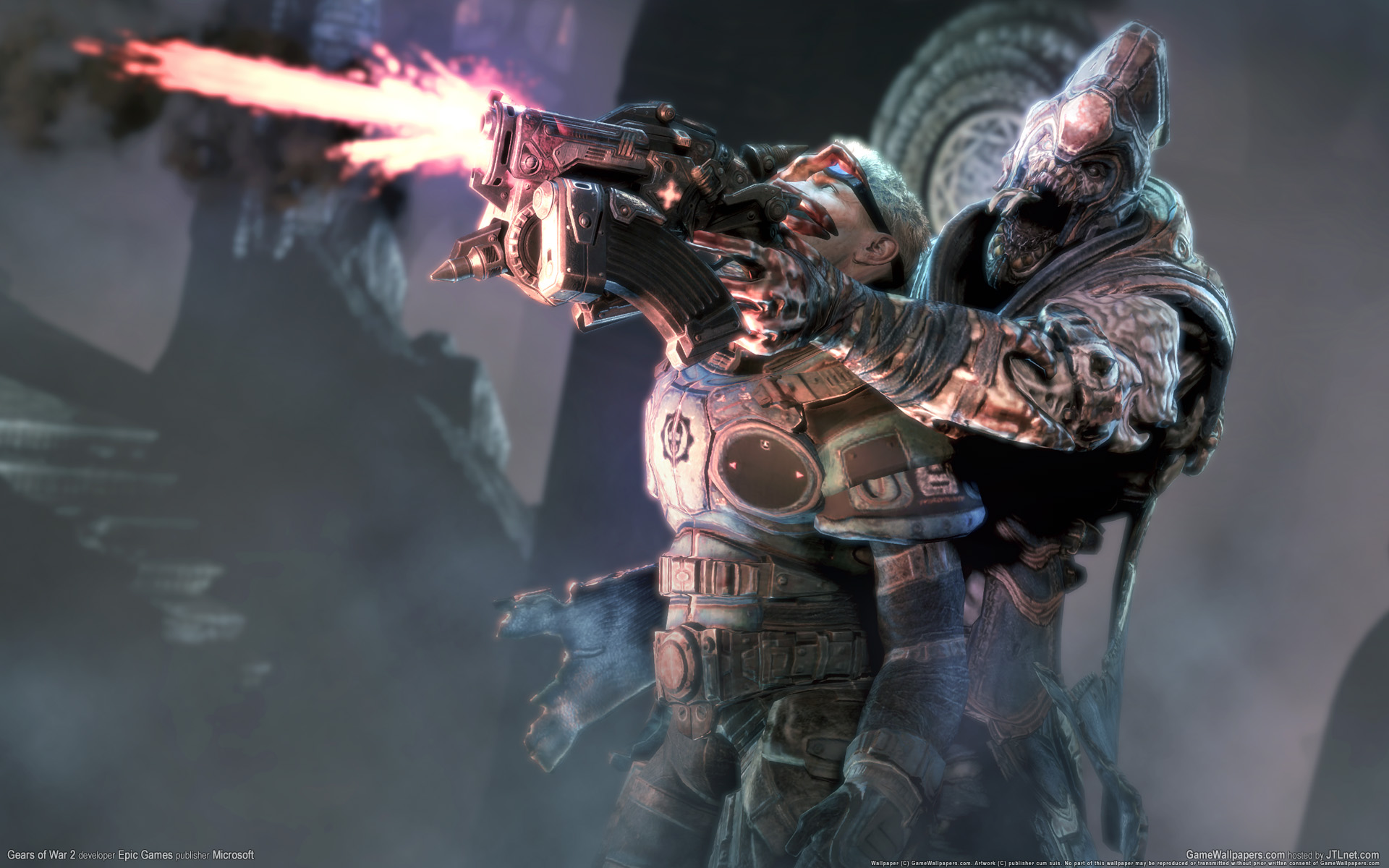 22 Awesome 3D Game Wallpapers Gears of War   Downloads   TechMynd 1920x1200