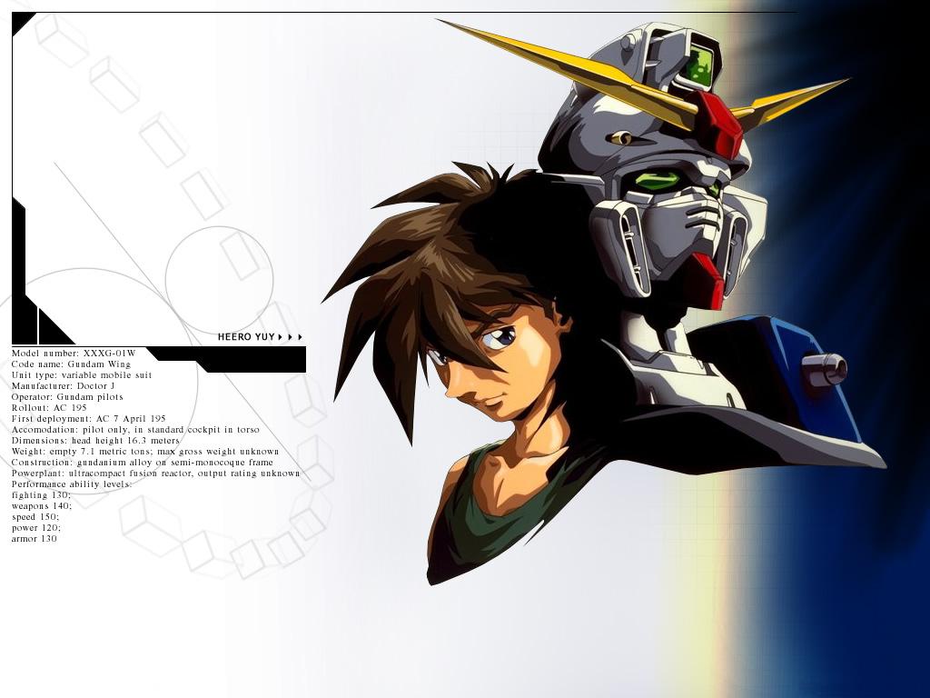Mobile Suit Gundam Wing Wallpaper 2 HD Desktop Wallpapers 1024x768