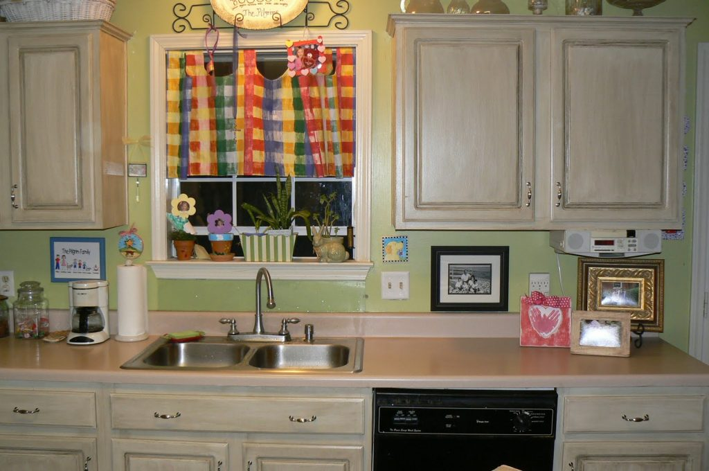 Painted Kitchen Cabinets Best Design With My 4littlepilgrims Painted 1024x680