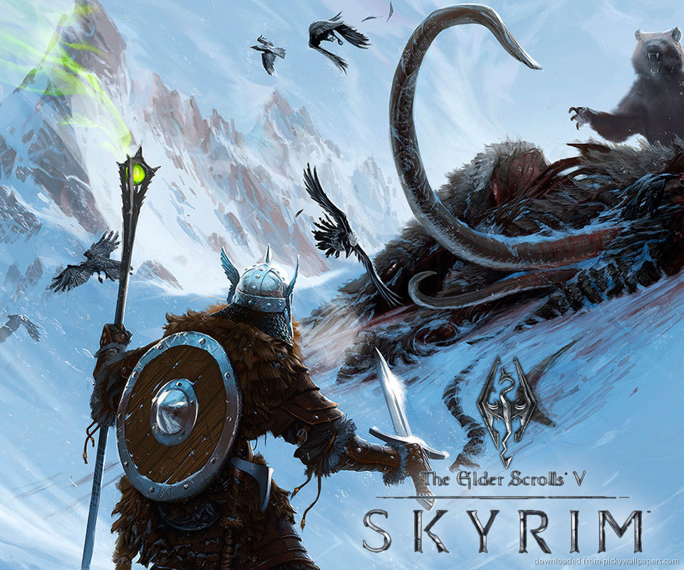 Skyrim Wallpaper: Epic Skyrim Wallpapers