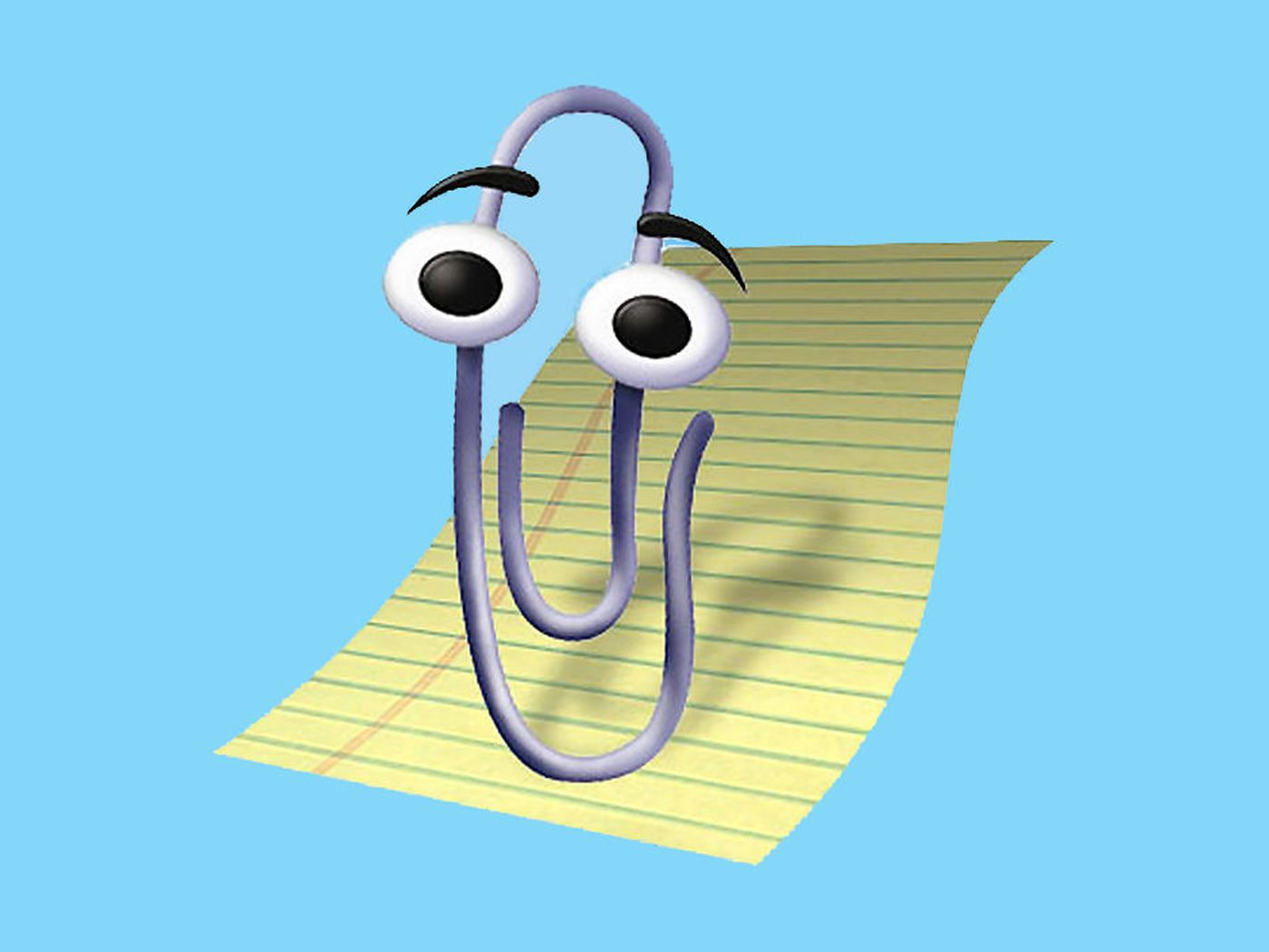 Microsoft resurrects Clippy and then brutally kills him off again 1400x1050