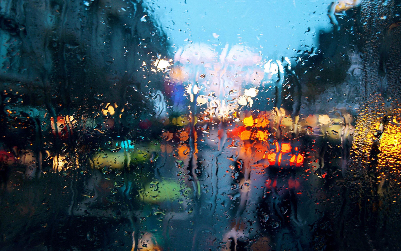Rainy Desktop Wallpaper - WallpaperSafari