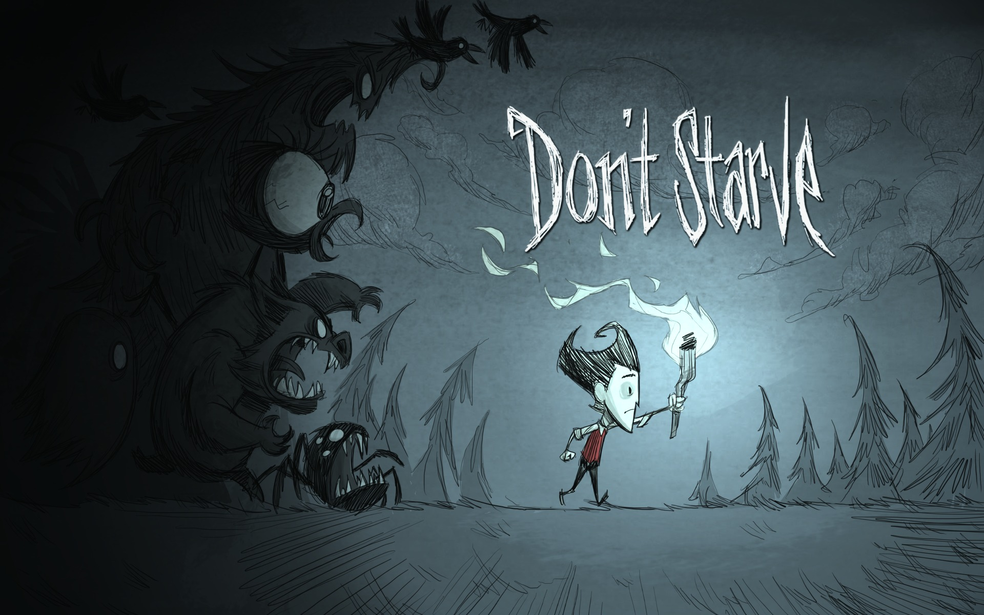 Dont Starve Indie Game HD Wallpapers 1920x1200