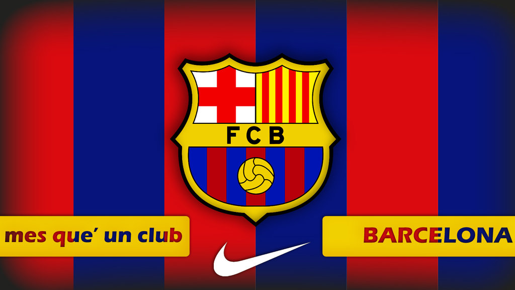 FCB Logo Wallpaper HD Soccer Wallpapers 1024x576