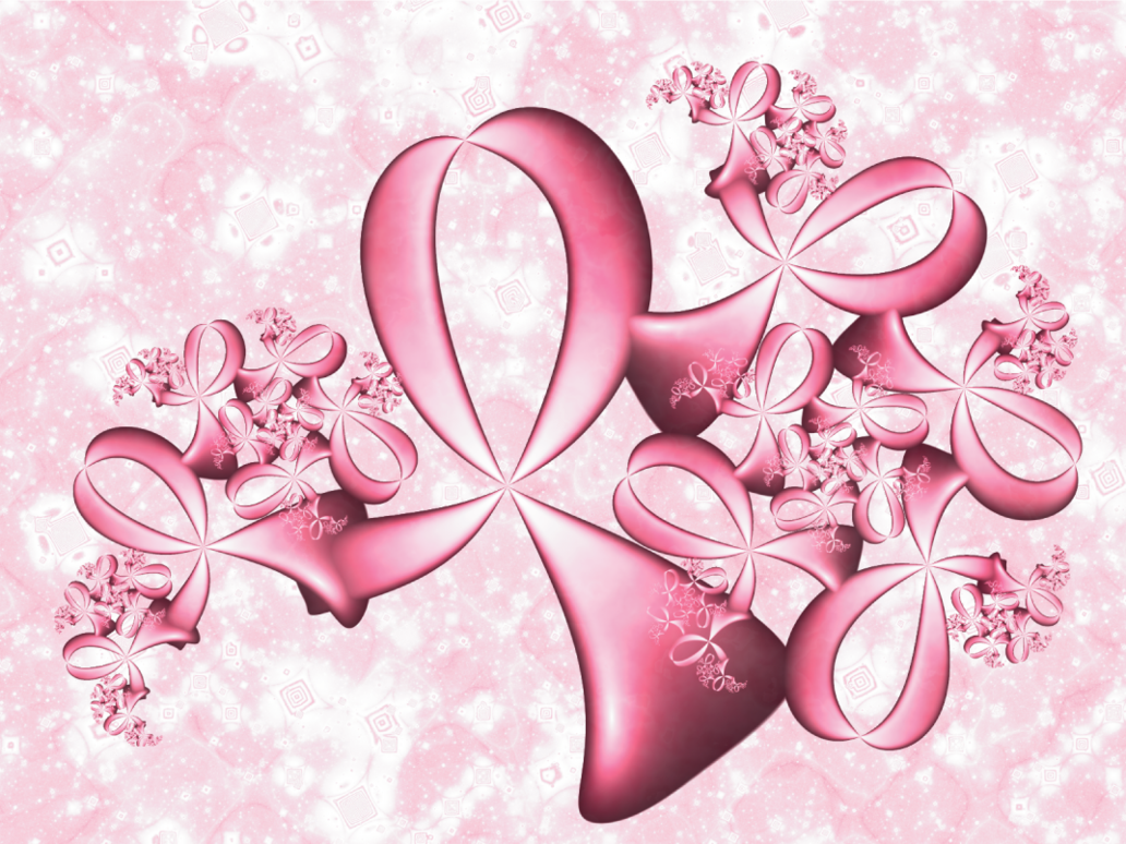 Pink Ribbons By PimpcessTyna 1032x774