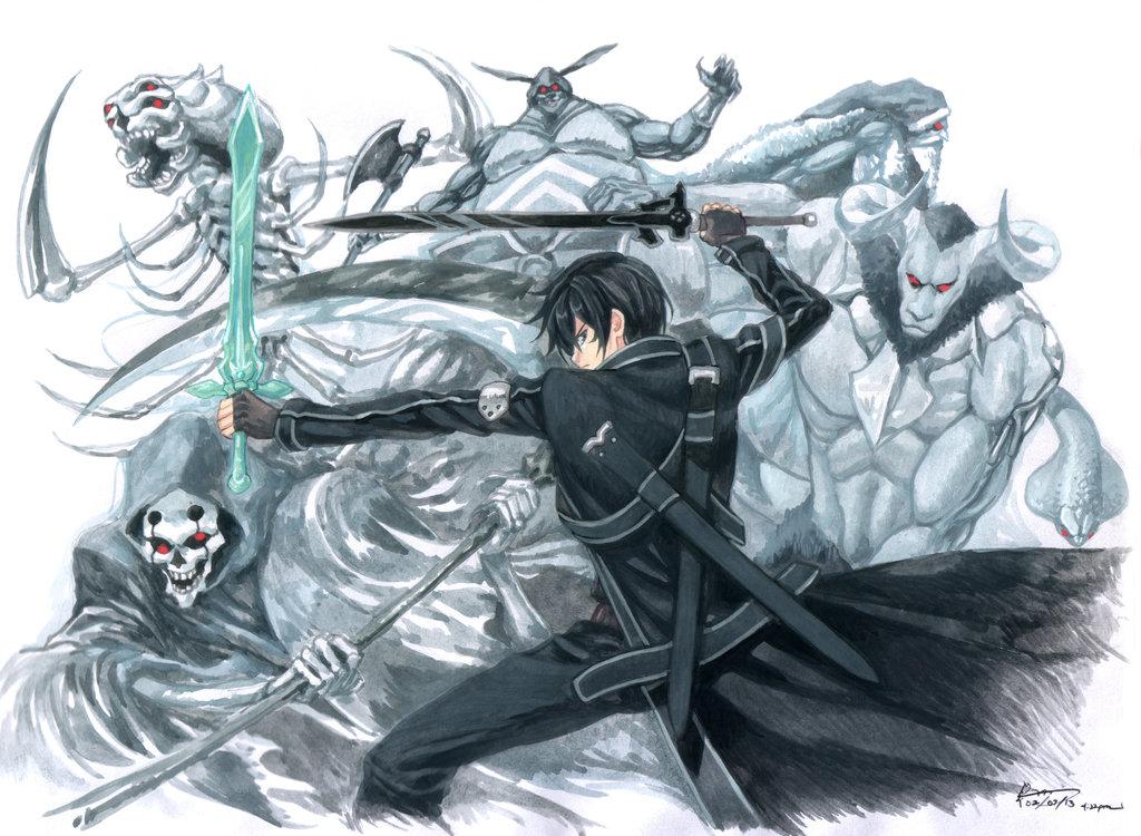 Sword Art Online   All Bosses by Nick Ian 1024x750