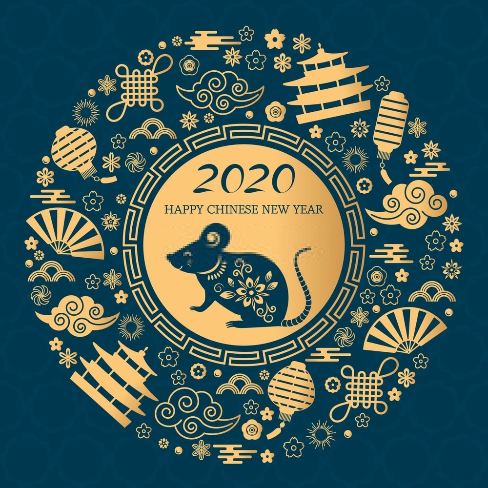 Chinese New Year Wallpapers for Year of Rat 2020   HappyNewYear2020 1000x1000