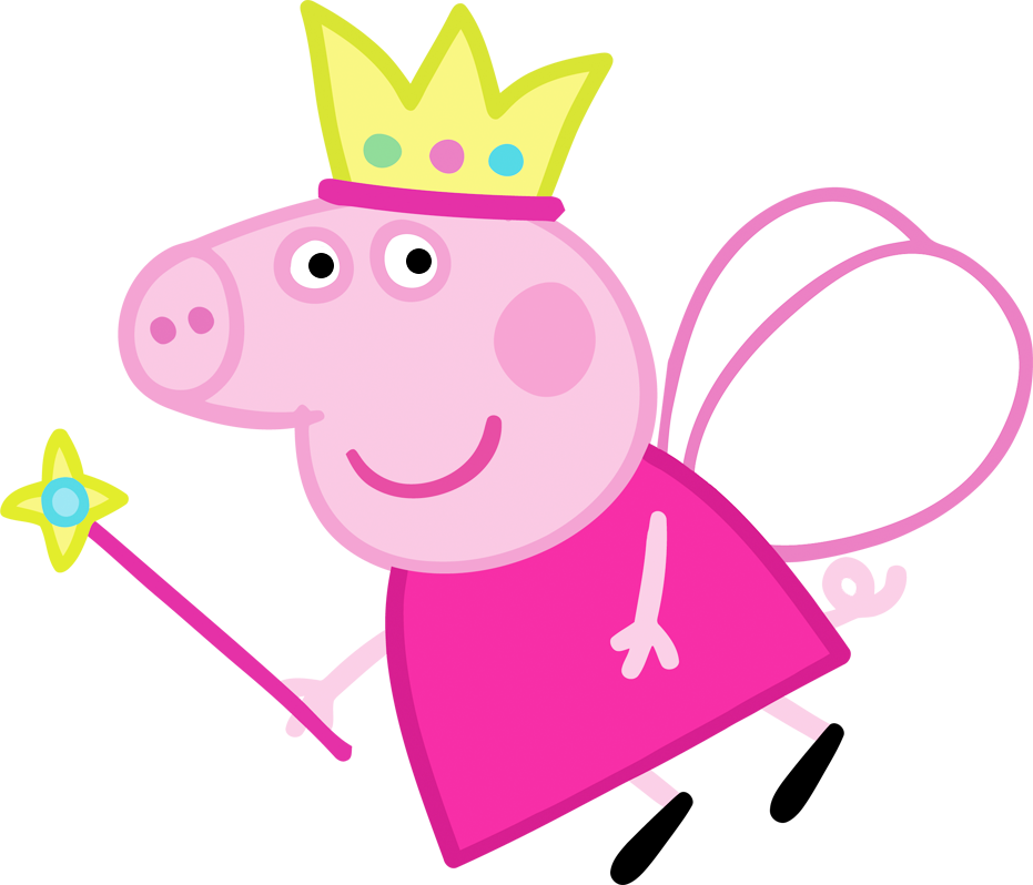 Peppa Pig Fairy Party Printables Images and Backgrounds Oh 931x798