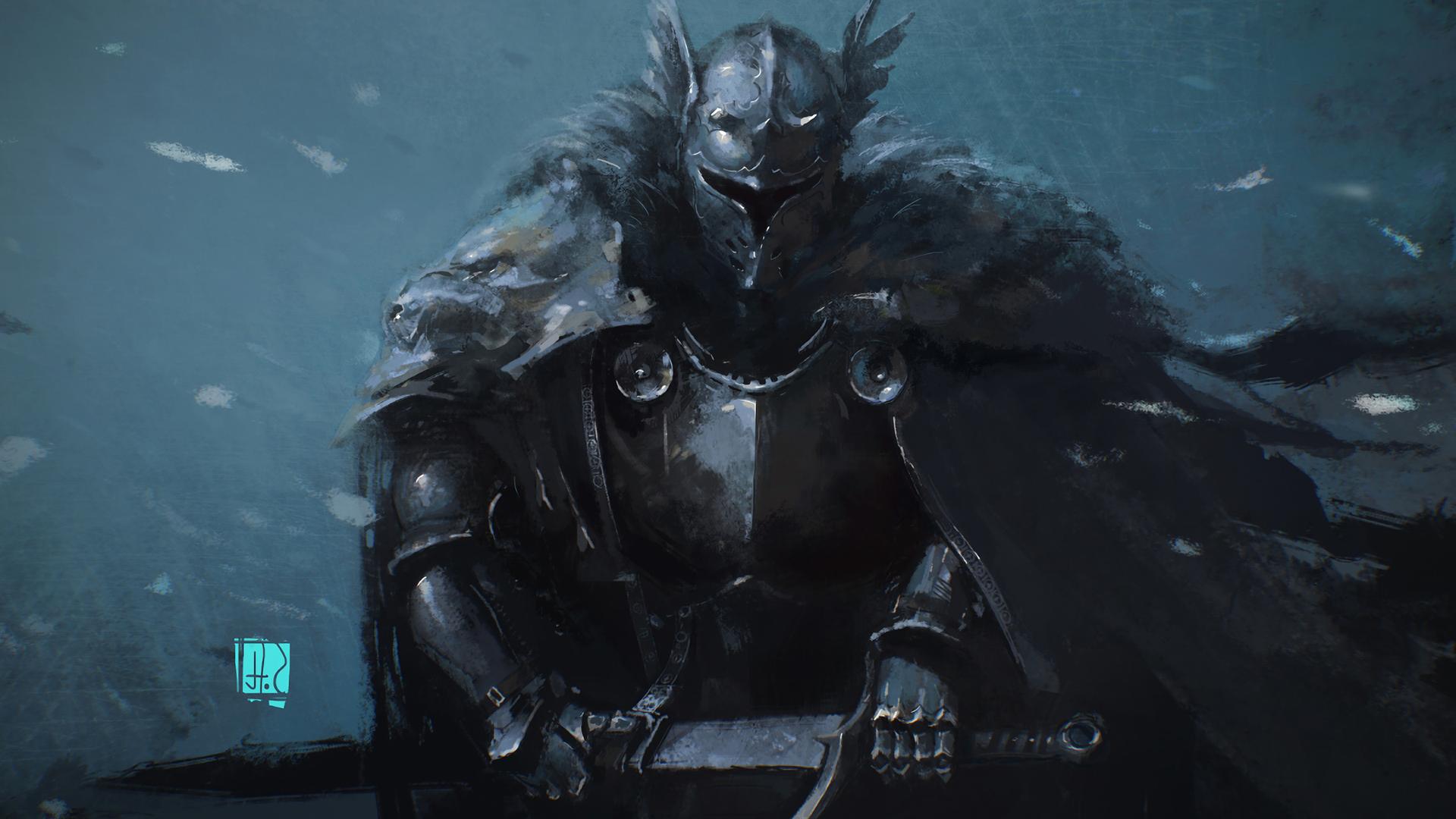 Fantasy Knight Wallpaper - WallpaperSafari