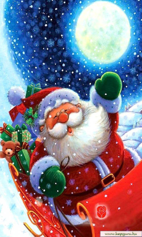 Download Christmas scene live wallpaper