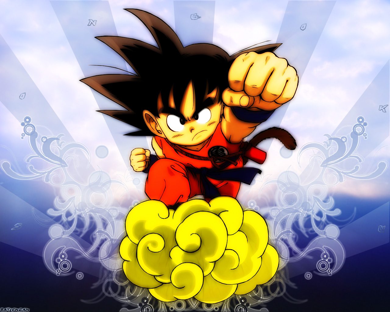 Son Goku 1280x1024