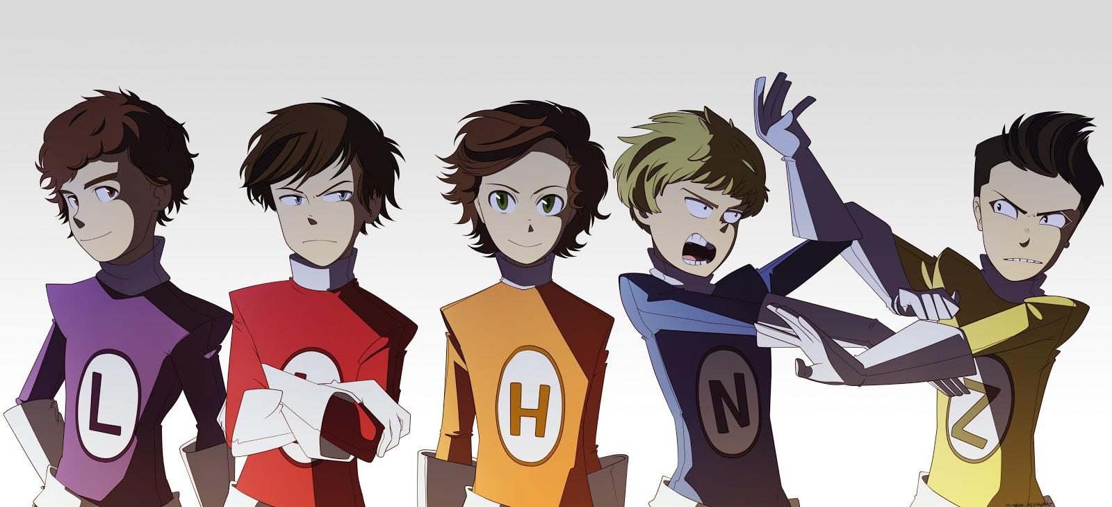 One Direction Super Hero 1600x729