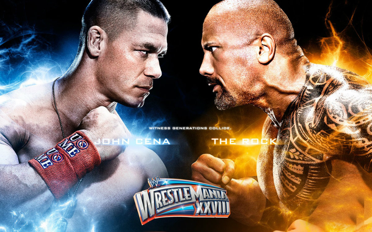 John Cena Vs The Rock HD Wallpaperjpg 26 Aug 2015 0959 328k 1200x750