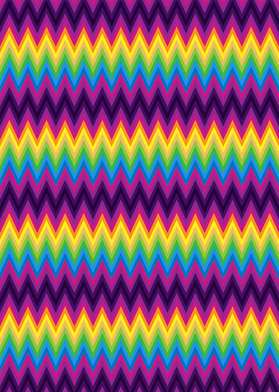Zig Zag Chevron Pattern by Medusa81 Redbubble 571x800