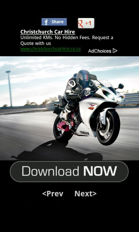 MotorCycle Wallpaper download for Android 480x800