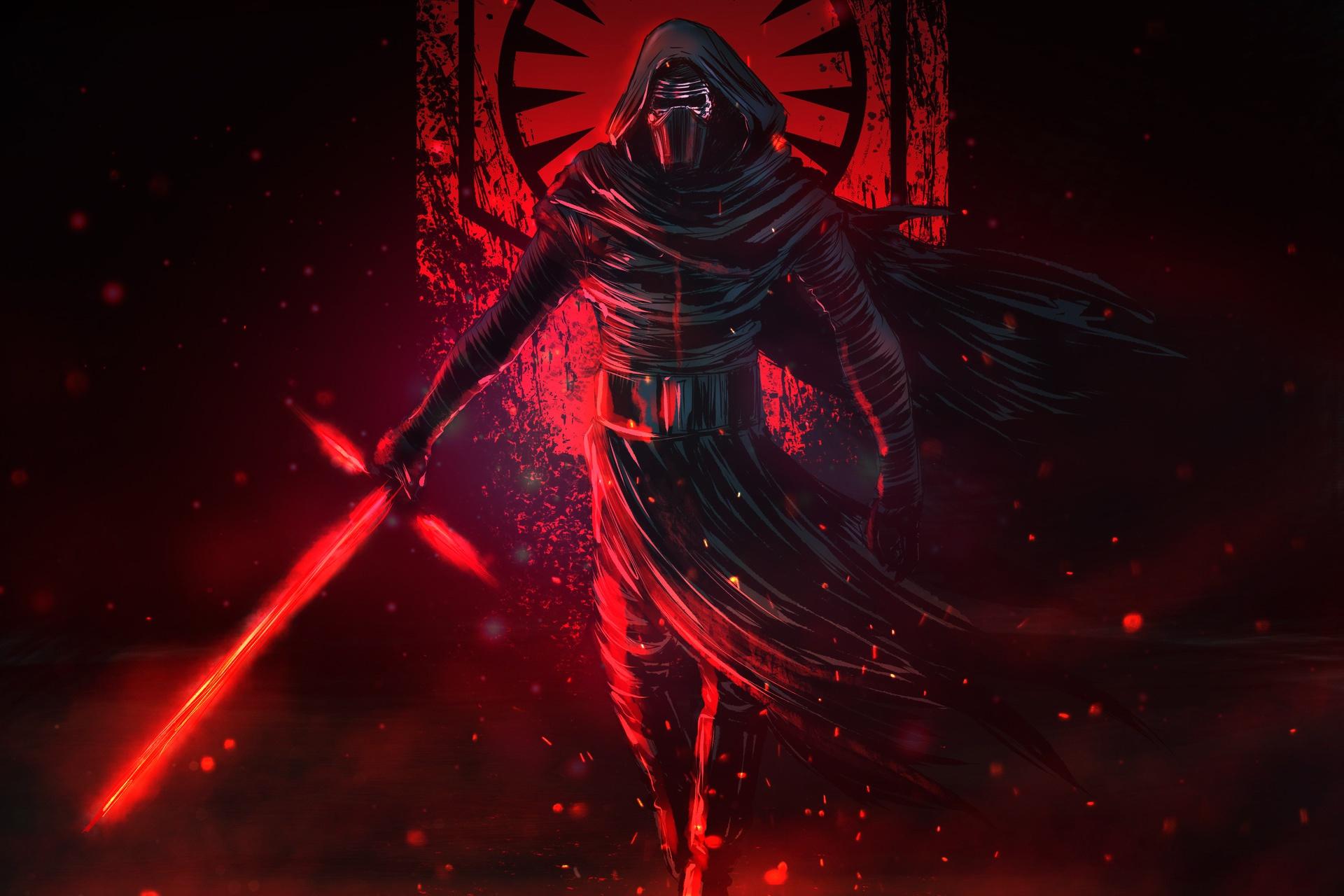 Star Wars Lightsaber Kylo Ren Wallpaper And Background   Star 1920x1280