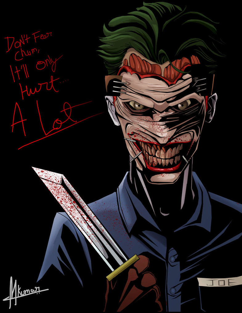 THE JOKER  New 52 by Mayank94214 786x1017