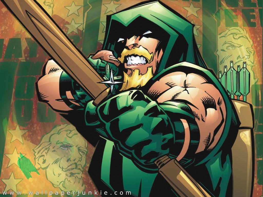 Green Arrow   DC Comics Wallpaper 251211 1024x768