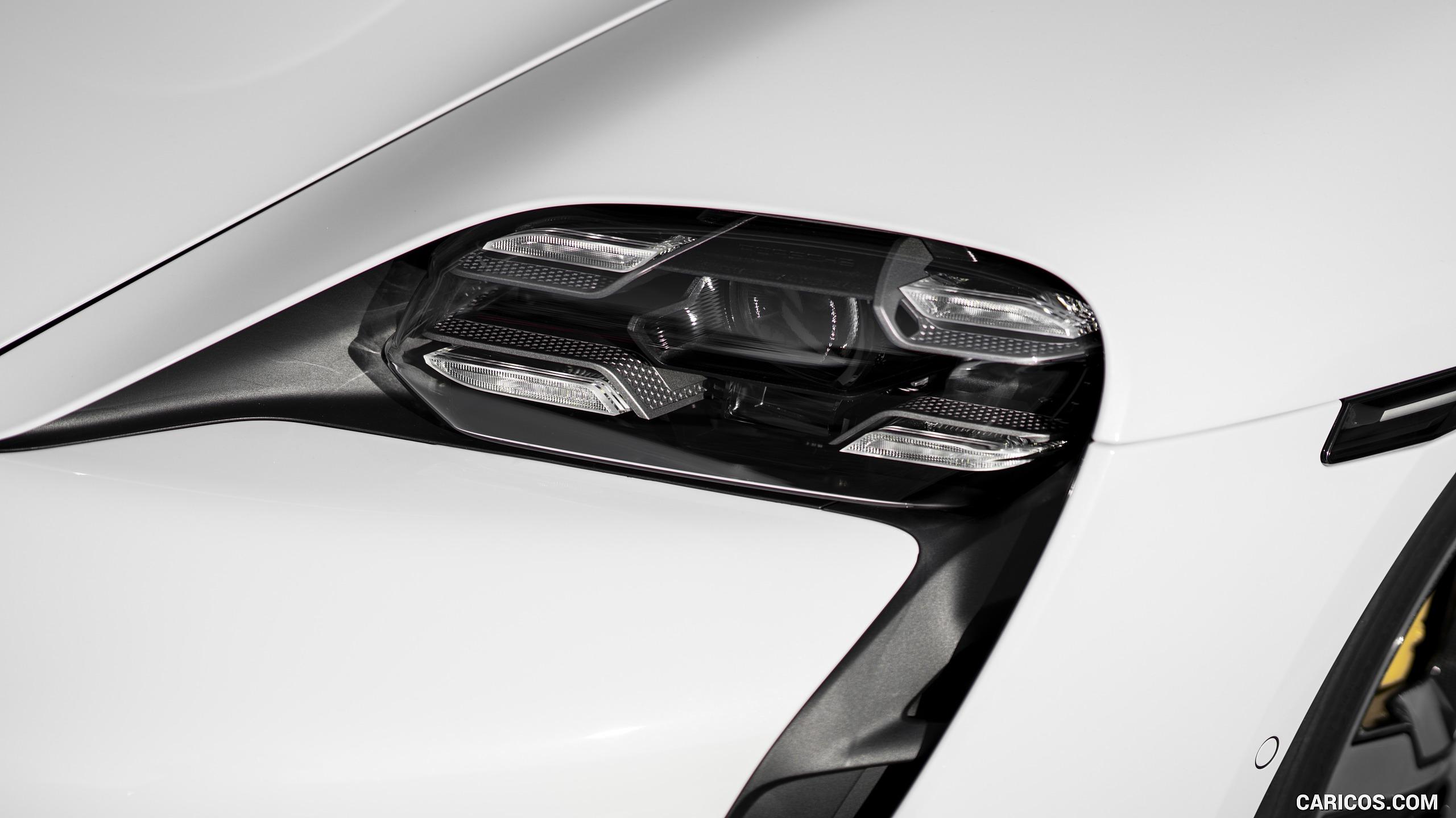 2020 Porsche Taycan Turbo S Color Carrara White Metallic 2560x1440