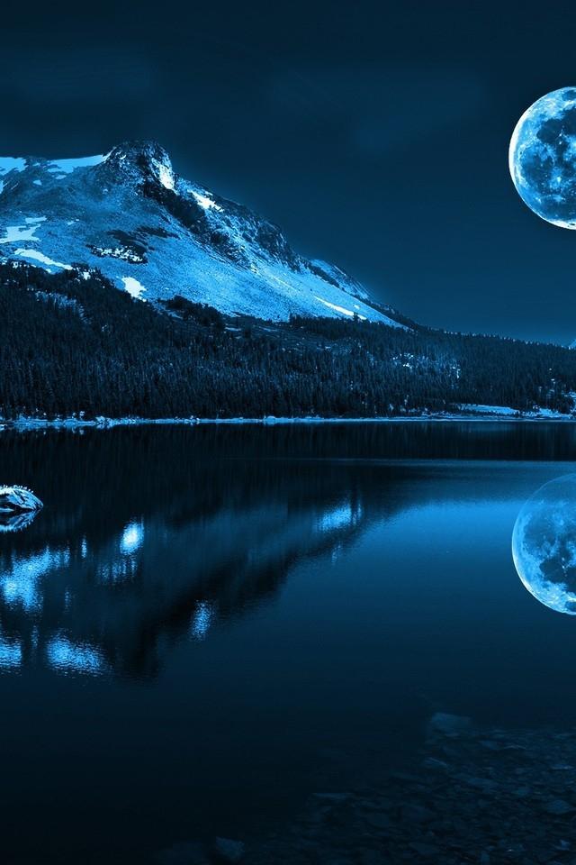 640x960px Full Moon Iphone Wallpaper Wallpapersafari