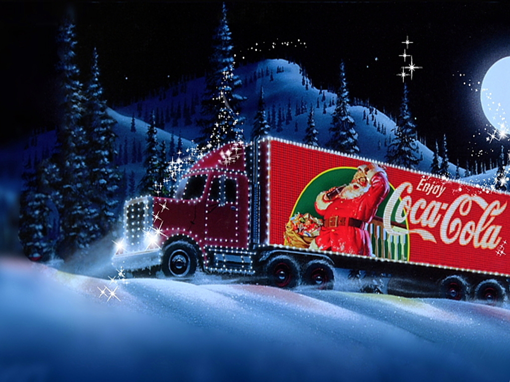 Christmas truck wallpaper   ForWallpapercom 1024x768