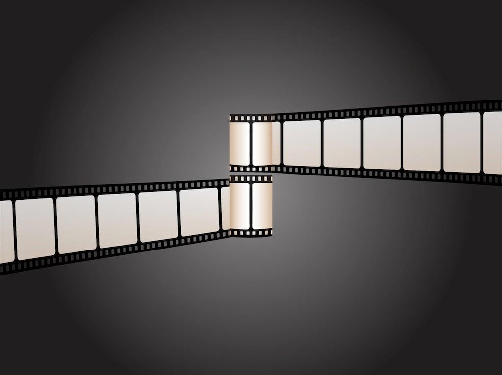 Free film wallpaper clip art wallpapersafari for Film strip picture template
