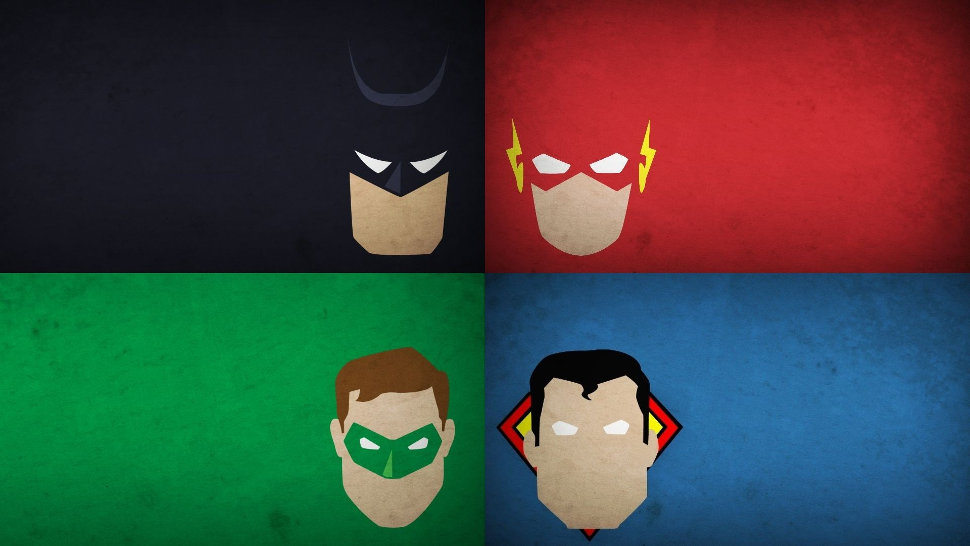 Justice League App Banners Android Homescreen by Isaiaher 1920x1080