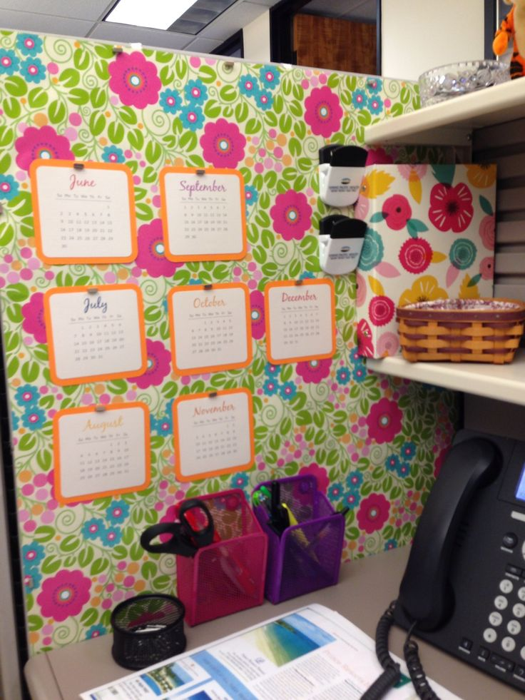 decorating office cubicle. Like My Cubicle Much Better Now Ideas Decorations 736x981 Decorating Office