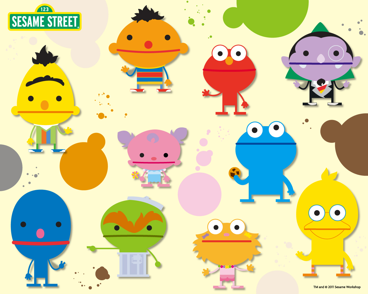 Sesame Street Fun Wallpaper
